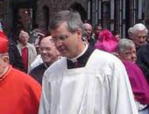 Een warm hart onder de riem voor onze bisschop